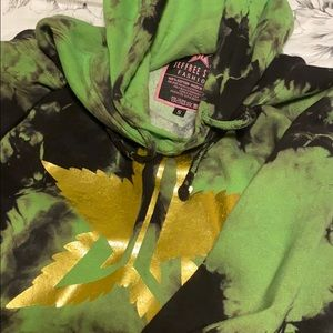 Jeffree Star 420 green hoodie